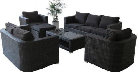 Perfektní materiál pro zahradní nábytek? Umělý ratan!