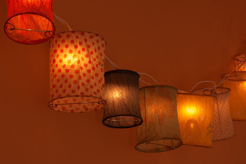Vyrobte si orientální lampionky