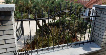 Kované a kovové ploty jsou skvělou vizitkou svého majitele