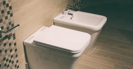 Bidet v moderní koupelně