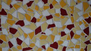 Mozaika z keramických obkládaček