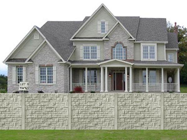 Betonové ploty ochrání váš majetek a zbaví vás nechtěných pohledů kolemjdoucích