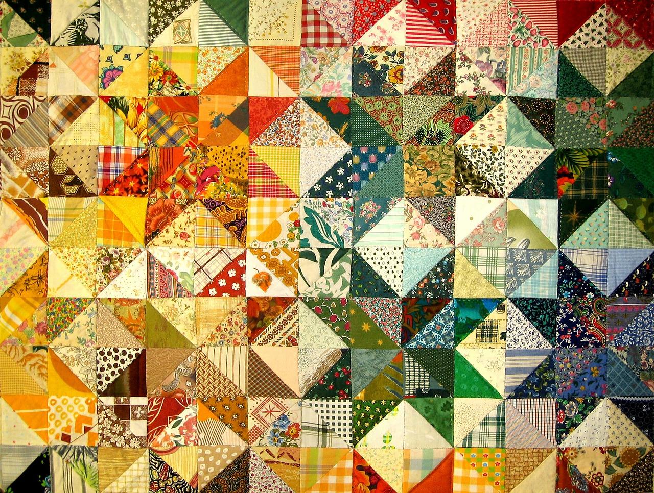 Návod jak na nešitý patchwork?