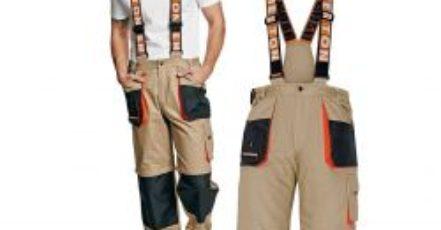 Pracovní oděvy nejsou drahé a přitom vás ochrání i pomohou při práci