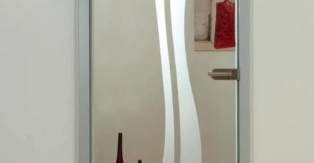 Skleněné dveře jsou sázkou na jistotu