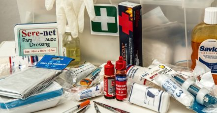 Máte doma lékárničku?