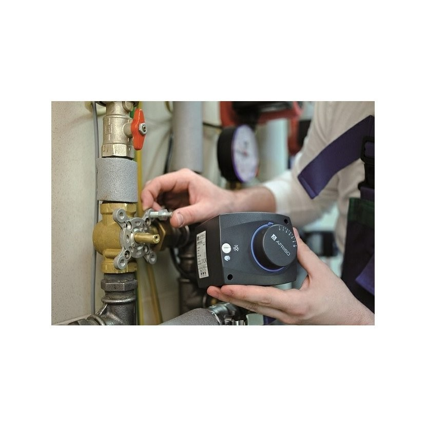 Poznejte výhody směšovacího ventilu a servopohonu se systémem ProClick