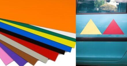 7 nápadů, jak využít barevné magnetické fólie