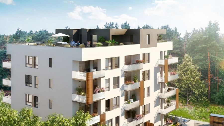 Nový rezidenční projekt Malešický háj nadchne milovníky zeleně i moderního bydlení